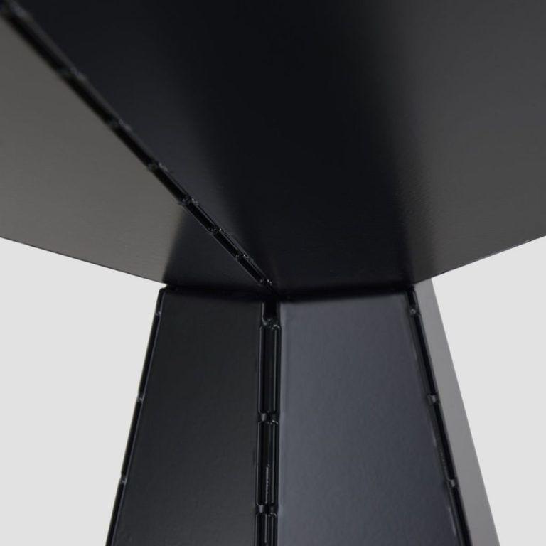 Stół jadalniany Unit czarny FUR0230 - Gie El