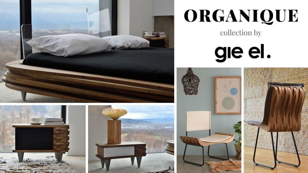 Organique collection - design bedroom furniture - Gie El