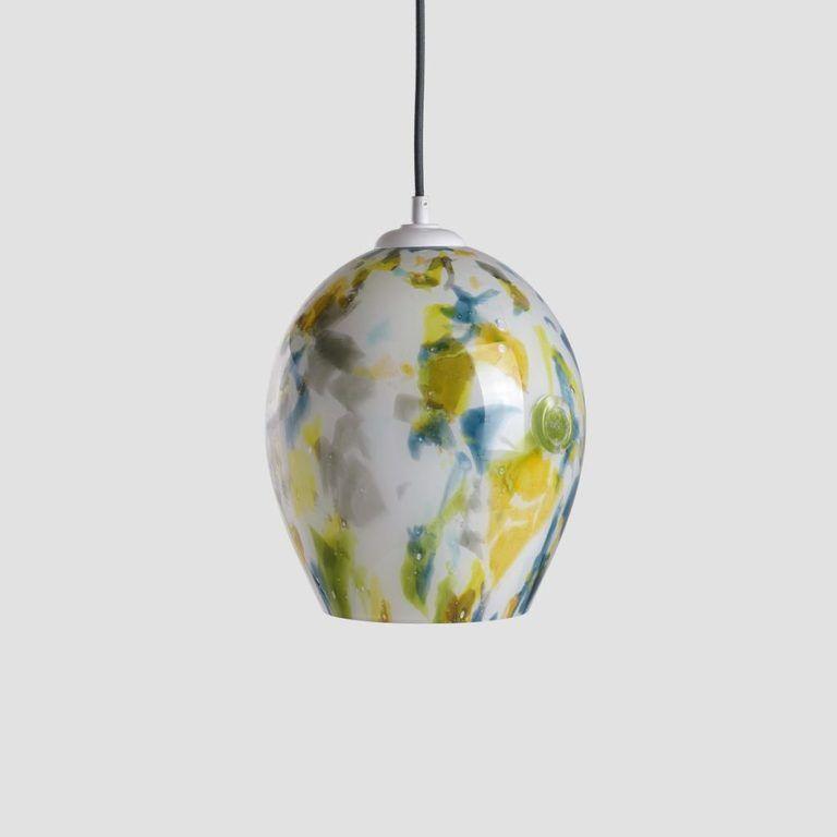 Gie El lampa wisząca oświetlenie szkło Pafil
