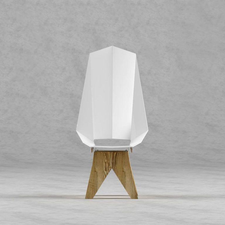 Krzesło FST0421 KNIGHT THRONE - Gie El