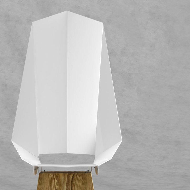 Biało-rdzawe stalowe DUO KNIGHT THRONE FST0423 - Gie El