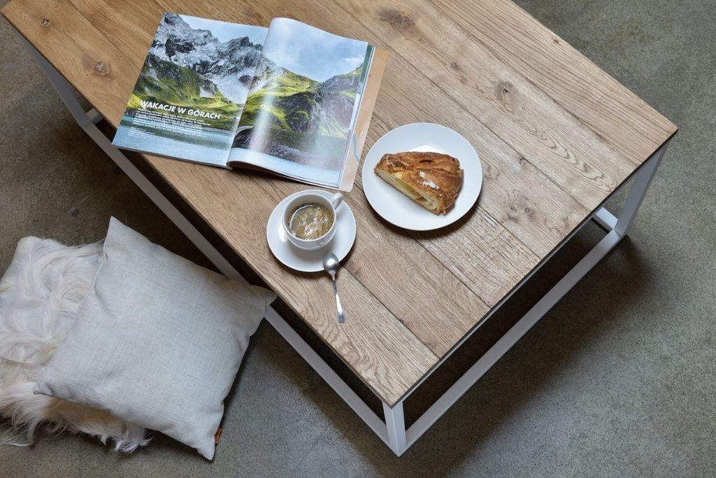 Stolik kawowy drewniany FRAMED FCT0052 - Gie El