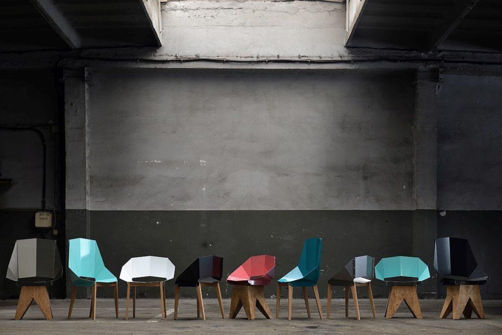 Gie El krzesła do jadalni chair design